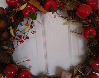 Autumn Apple Wreath