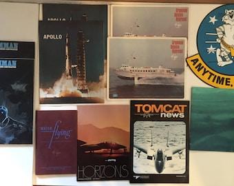 An Assortment of Grumman 1960's & 1970's Memorabilia