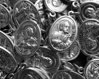 St. Peter & Paul Medals with chain