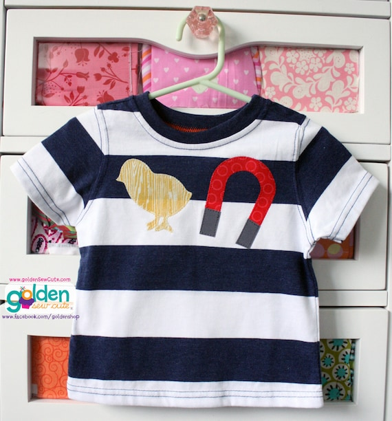 Easter Chick + Magnet, Boy Spring Tee
