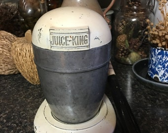 Vintage Juice King Juicer, 1950s