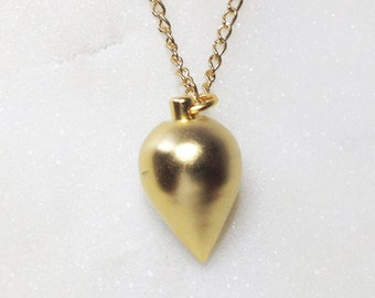 Golden STATEMENT necklace - jewelry, drop, gold, necklace, pendant, necklace, necklace, gift