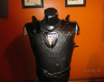 Dragon scale armour