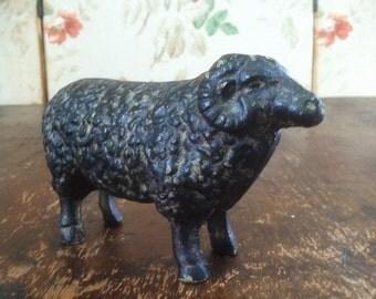 Vintage Cast Iron Sheep