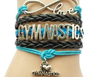 I Love Gymnastics Teal