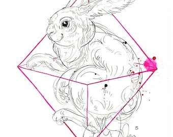bunny geometric_2