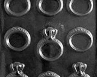 Engagemet Rings Chocolate Mold
