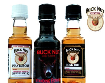 Gifts for Men 2016 - Buck Nut Deer Scents - Gifts Under 50 Dollars - Gifts for Him