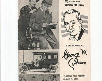 "Pasadena california 1951 playhouse news george cohan ""Pigeons and People"""