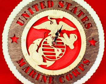 Marine Corps Clock Tribute