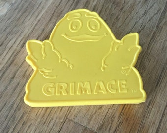 Grimace Cookie Cutter from McDonalds