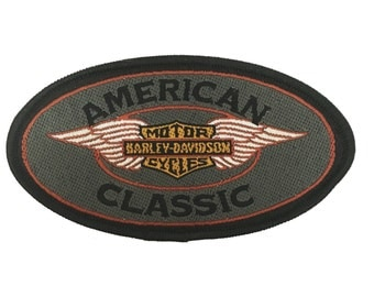 Vintage Harley Davidson 'American Classic' Patch