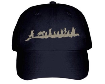 Lord of the Rings Silhouette Inspired Hat