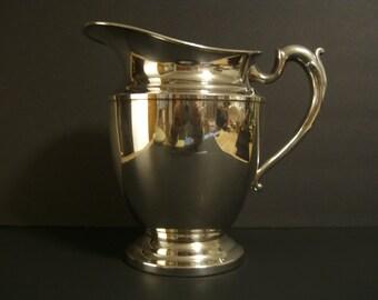 Silverplate Pitcher Benedict Mfg.