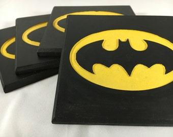 Batman Coasters - Set of 4