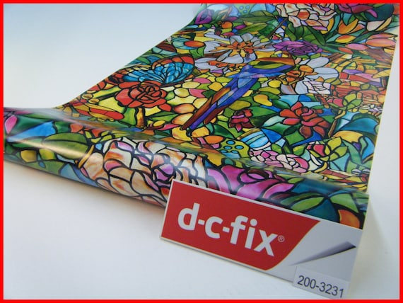 Contact Paper DC FIX Floral Flowers Transparent Colour Pattern
