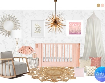 Interior Design Package for Childrens rooms, nurseries and playrooms