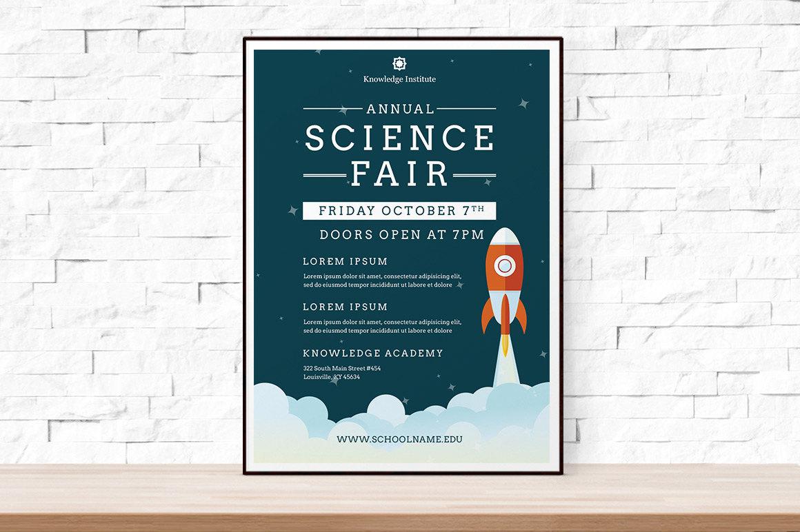 festival flyer diy printable school science fair flyer template word flyer templates event flyer template science festival school template rocket ship