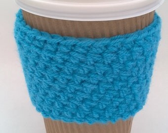 Handmade Cup Cosy - Multiple Colours