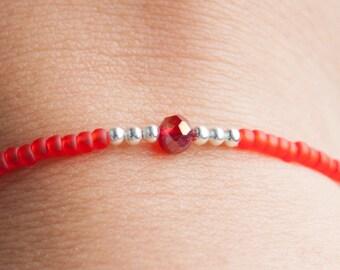 Seed bead bracelet, ree bracelet, stack bracelet, Ibiza bracelet, boho bracelet, friendship bracelet, delicate bracelet, Christmas present