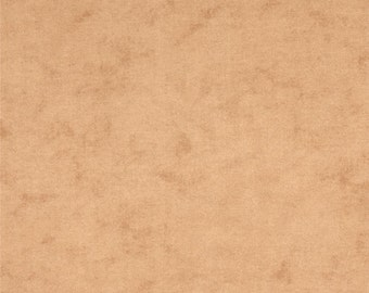 "Flannel 108"" wide-Almond-Moda Pure Natural Flannel- 100% Cotton Flannel- Wide Cotton Flannel-"
