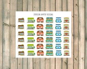 Grocery Market Planner Stickers