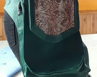 Double Pocket Convertible Holster Bag
