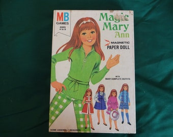 Magic Mary Ann Magnetic Paper Doll