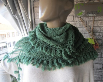 BIG SALE/ scarf, green scarf, women accessories, gift