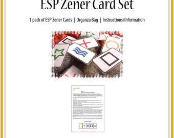 ESP Zener Card Set/Zener cards/ESP Cards/ESP/Psychic ability