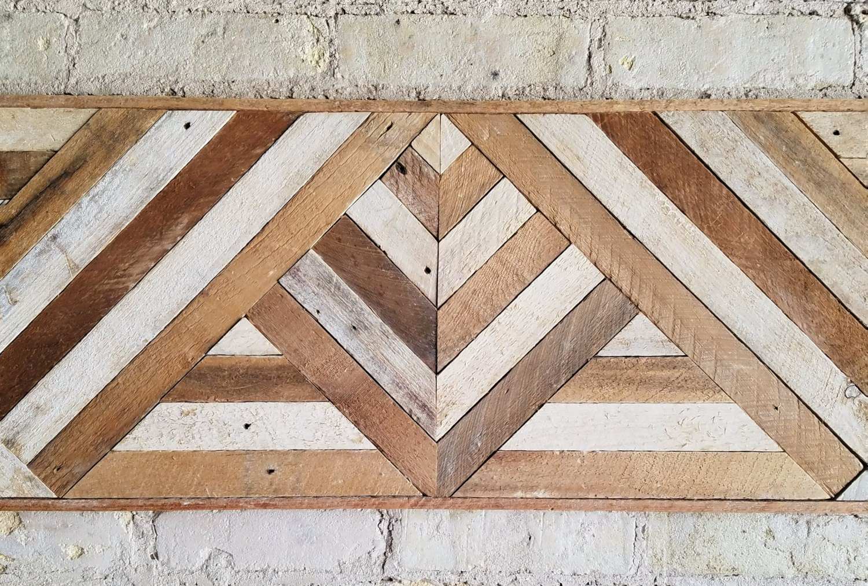 Reclaimed Wood Wall Art Queen Headboard Wood Wall Decor
