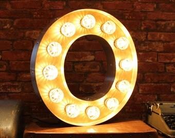 Letter Light O