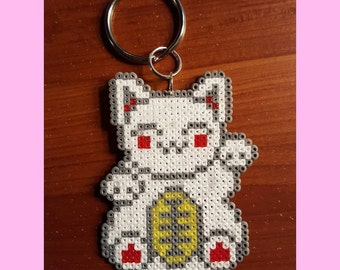 Maneki Neko (Lucky Cat) Keychain