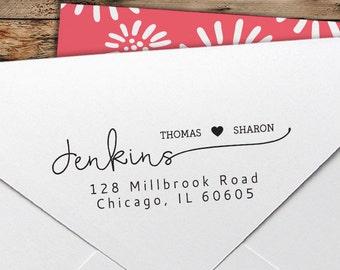 Custom Stamp - Personalized Return Address Stamp - Custom Rubber Stamp - Personalized Address Stamp - Self Inking Stamp - RA083