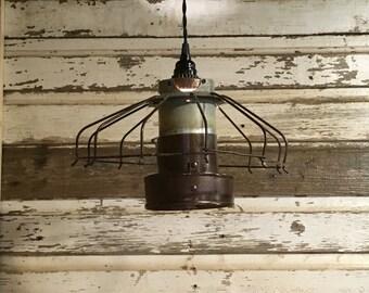 Open Cage Industrial Chicken Light