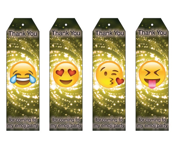 Emoji Inspired Party Favor Bookmarks Download By