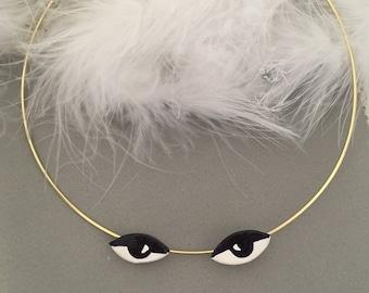 Black Eyes necklace.