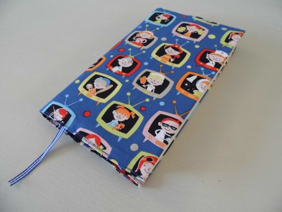 Handmade Fabric Book Covers : Sale hi kids handmade fabric book cover