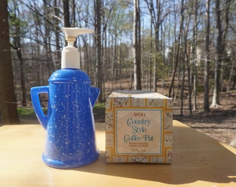 Vintage Avon Bottle - Country Style Coffee Pot