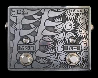 CLOG audio Prickle Fuzz  - handmade boutique guitar effects pedal
