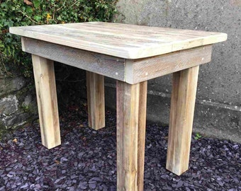 The Harlech Table - Handmade Rustic Wooden Table