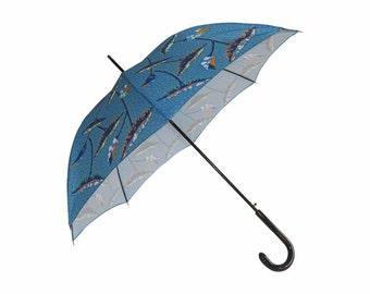 City auto aperture - Blue - African night umbrella