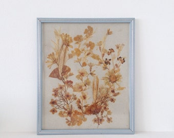 Vintage dried flower picture