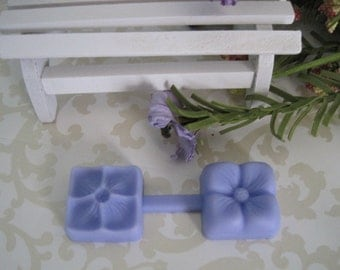Flower Silicone Mold and Embosser - Flower Mold - Flower Embosser - Fondant Mold - Clay Mold - Cake Decorating Molds - Silicone Molds - Mold