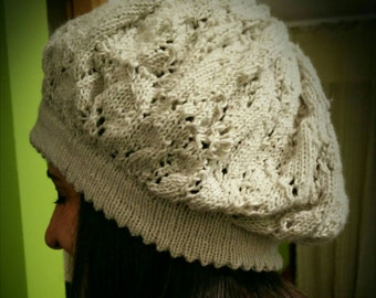 Pure cashmere hat - Peronalizable - Welcome Spring: 20% until 20th June