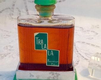 Harmelle, Tra la la, 25 ml. or 0.87 oz., Pure Parfum Extrait, 1920, Paris, France ..