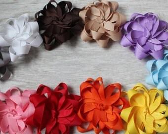 Non-slip grip Rainbow clippies, hair accessories, baby, little girl, gift, shower, anniversary, hairstyle, fashion