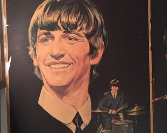 Vintage Beatles posters