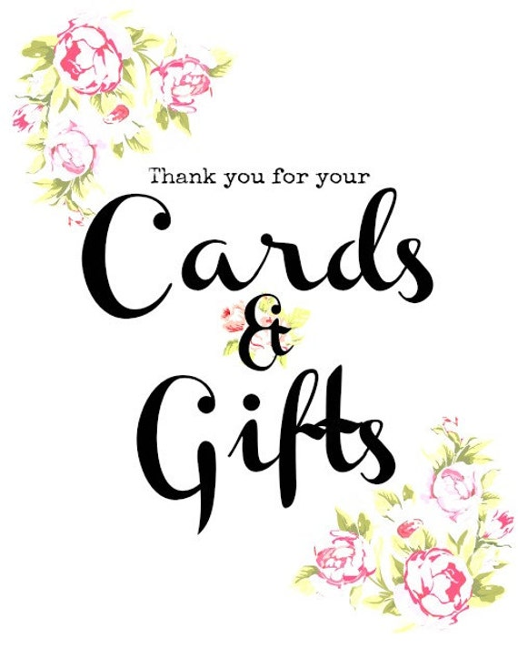 cards and gifts wedding sign thank you cardaliceannlondon