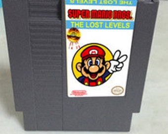 Super mario Brothers-  The lost levels - the real super mario brothers 2